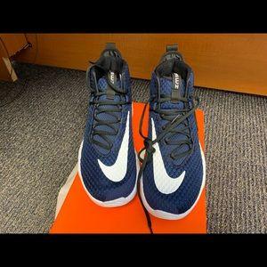 Nike zoom basketball shoes.